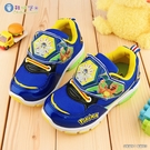 童鞋城堡- 男童運動鞋 LED電燈鞋 透氣運動鞋 寶可夢 PA7305 藍