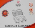 CROWN 皇冠 線材小工具包 化妝包