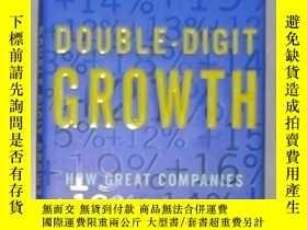 二手書博民逛書店英文原版罕見Double-Digit Growth by Mic