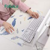 日本發熱暖桌墊加熱女超大滑鼠墊usb學生桌面書寫暖手發熱墊辦公 YXS  潔思米