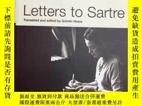 二手書博民逛書店Letters罕見To Sartre - 伏波娃《給薩特的信》Y