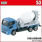 TOMICA NO.053 水泥攪拌車 TM053A多美小汽車