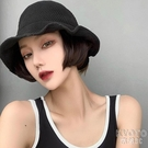 帽子假發女短發網紅波波頭帽子帶假發一體女秋天時尚bobo全頭 【快速出貨】