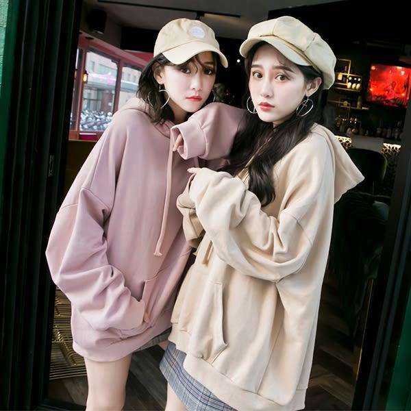 MD韓製-前口袋連帽上衣-3色【01130400】