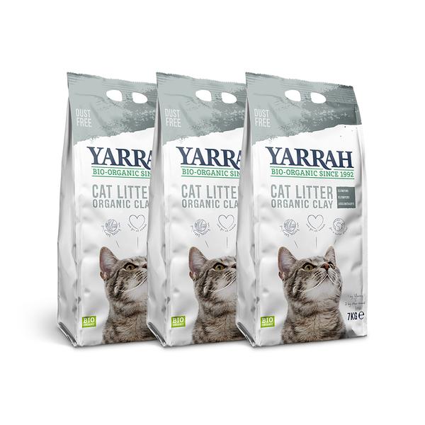 寵物家族-【三包免運組】加拿大YARRAH歐瑞有機貓砂7kg