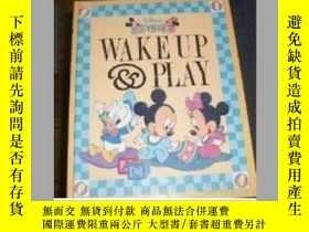 二手書博民逛書店罕見1 Wake Up and Play (Disney Bab
