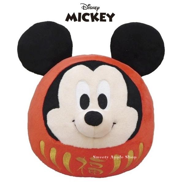 日本限定 迪士尼 米奇 不倒翁 / 達摩招福造型 玩偶娃娃