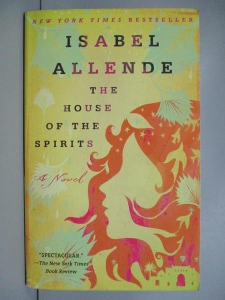 【書寶二手書T5/原文小說_IQD】The House of the Spirits_Allende, Isabel/