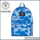 Parkland 後背包 Franco 簡約休閒背包 超輕量 大容量 藍迷彩 Franco-266 得意時袋