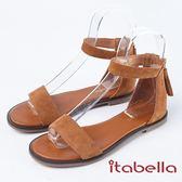 ★2018春夏新品★ itabella.簡約舒適羅馬涼鞋(8342-31棕)