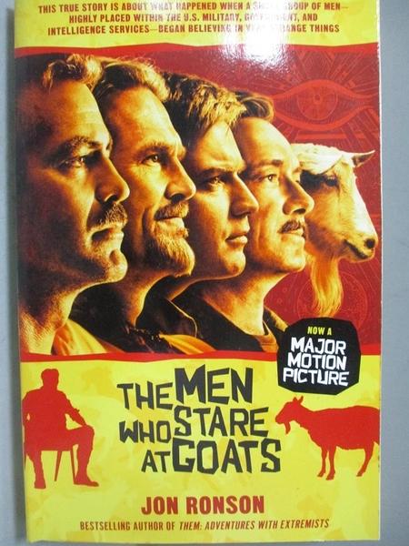 【書寶二手書T8/政治_MMY】The Men Who Stare at Goats_Ronson, Jon