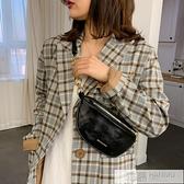 網紅錬條小包包女2020新款潮韓版質感斜背包百搭時尚胸包腰包  4.4超級品牌日
