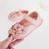 2019春秋學步鞋寶寶鞋子女0一1-2歲公主鞋嬰兒軟底6-12個月女涼鞋