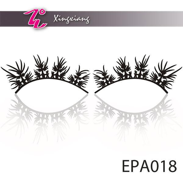 Xingxiang形向 EPA018 紙雕 假睫毛 紙睫毛(黑色-火焰精靈)(1對入) (paper eyelashes時尚彩妝 造型)