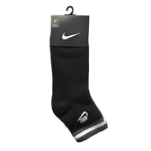 Nike High Ankle Sock [SX4325-011] 男 中筒襪 經典 橫條紋 黑灰