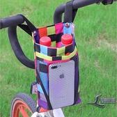 2個裝 電動自行車掛物包電瓶車儲物收納袋掛包【邻家小鎮】