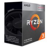 【免運費】AMD Ryzen 3-3200G 3.6GHz 四核心處理器 R3-3200G (內含風扇)