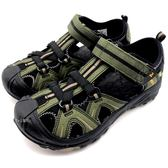 《7+1童鞋》MERRELL MLC53375   戶外  多功能  防水止滑  護趾涼鞋  D187  綠色