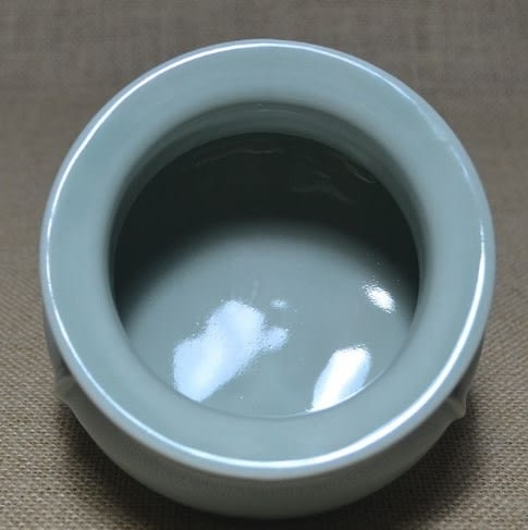 [協貿國際]  青瓷工筋爐香爐居家裝飾 (1入)