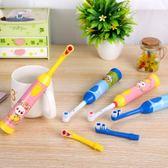 電動牙刷 兒童軟毛 3-6-12-15歲寶寶自動牙刷 防水 4頭