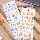 PGS7 富士 拍立得 貼紙 - 生活 風格 系列 貼紙 裝飾 手帳本 日記本【SHZ71221】