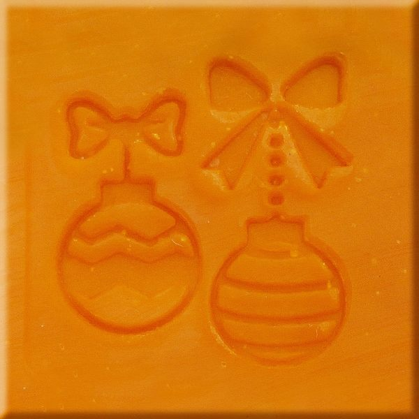 【香草工房】 風格皂章~MB015蝴蝶結禮物球