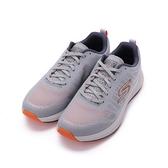 SKECHERS 慢跑系列 GORUN PULSE 綁帶運動鞋 灰橘 220096GYOR 男鞋