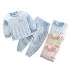 長袖護肚套裝 空氣棉肚衣套裝 嬰兒內衣套...