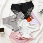 3條裝鏤空蕾絲內褲女性感低腰女士三角褲