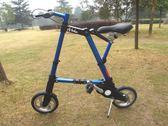 升特10寸abike折疊自行車8寸迷妳折疊單車超小腳踏車  igo摩可美家
