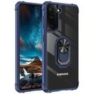 車載支架三星S21 Ultra手機殼 創意SamSung S21手機套 軍士透明三星S21保護殼 潮流Galaxy S21+保護套