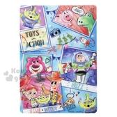 〔小禮堂〕迪士尼玩具總動員日製透明硬墊板《B5 藍相片框》學童文具桌墊4935124 51728