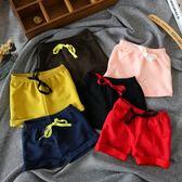 童裝夏季寶寶短褲正韓兒童熱褲五分褲男童女童短褲棉質運動褲