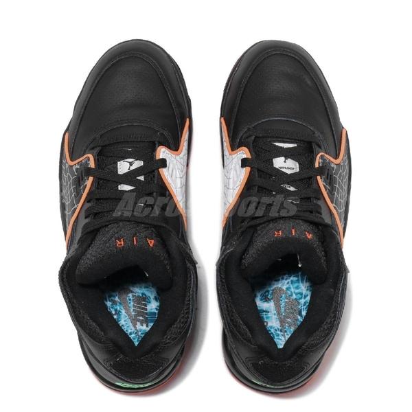 Nike 籃球鞋 Air Flight 89 黑 橘色 男鞋 運動鞋 【ACS】 CT8478-001
