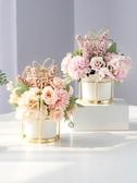 北歐家居干花假花仿真花客廳裝飾品擺件花束茶幾餐桌花擺花藝擺設 優樂美