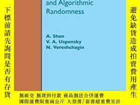 二手書博民逛書店Kolmogorov罕見Complexity And Algorithmic Randomness-Kolmogo