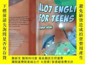 二手書博民逛書店ALO7罕見ENGLISH FOR TEENS 4A STUDENT BOOKY22725