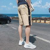 休閒短褲男潮夏港風韓版潮流百搭外穿寬鬆運動中褲夏季休閒五分褲 3c公社