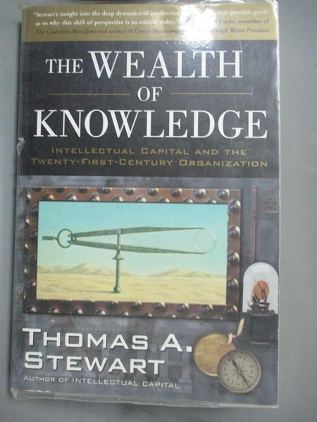 【書寶二手書T1/大學商學_JDC】The Wealth of Knowledge-Intellectual Capital and..._Stewart
