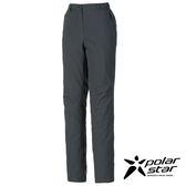 PolarStar 女防水保暖長褲『灰藍』P16410 休閒褲│釣魚褲│登山褲│耐磨褲