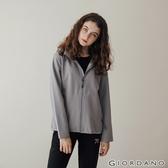 【GIORDANO】女裝Softshell 三合一高機能刺繡徽章連帽外套-02 銀灰