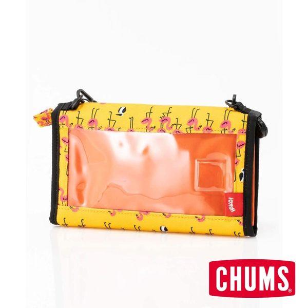 CHUMS 日本 Eco Bellows Pocketbook 肩背包 森林綠-CH602476M021