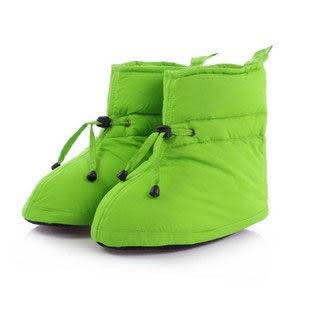 【a-liFe】高筒羽絨鞋(長款/綠)