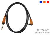 凱傑樂器 STANDER C-2323LG 5FT 6.3 TS TO (R) 3.5 TRS 音源線 紅色