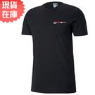 【現貨】PUMA CLUB 男裝 短袖 休閒 棉質 黑 歐規【運動世界】59716601