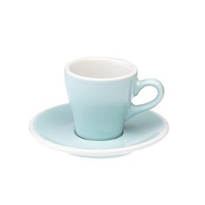 Loveramics Pro-Tulip濃縮咖啡杯盤組-共6色湖水藍