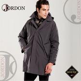 【JORDON 橋登 男 GORE-TEX 二件式長版羽絨外套《鐵灰》】1951/防水外套/羽絨衣