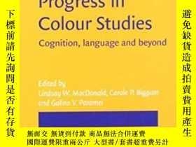 二手書博民逛書店Progress罕見In Colour Studies: Cog