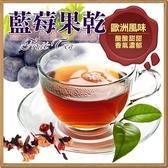 藍莓水果風味果粒茶包 水果茶包 藍莓水果茶 果粒茶包 一包(20小包) 無咖啡因 【正心堂】