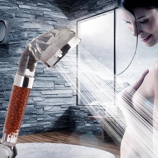 增壓淋浴花灑噴頭浴室熱水器超強沐浴花曬家用手持淋雨蓮蓬頭套裝 LannaS